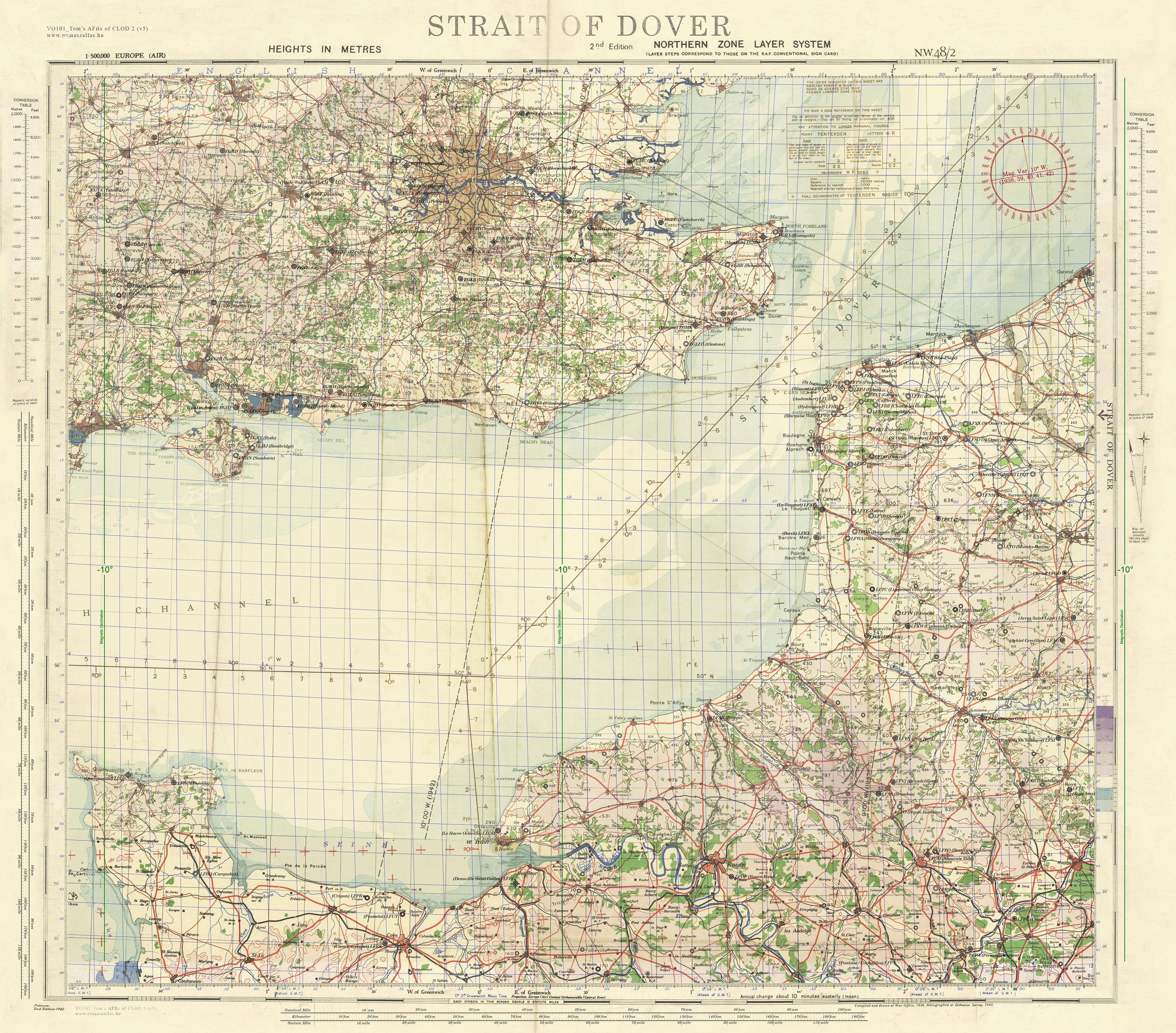 Maps IL2 Sturmovik Cliffs of Dover Tools