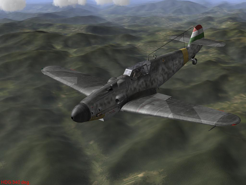 bf109g6 hun unmarked campaign by-vpmedia2