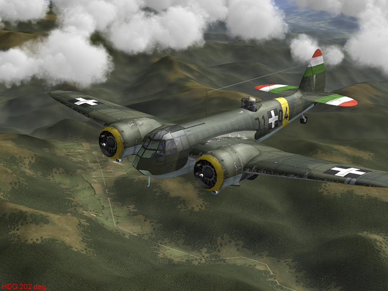 BlenheimMKI HUN J.104 Captured Yugoslavian AF by-Jutocsa2