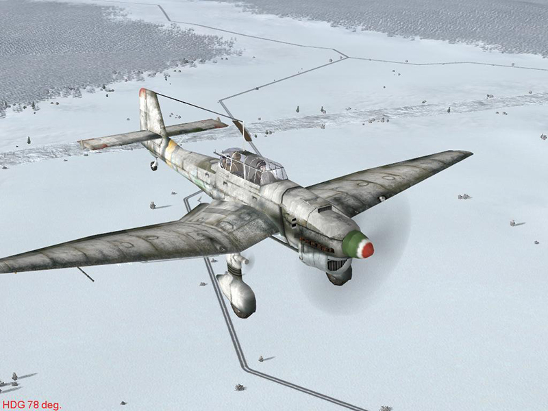 ju87d hun unmarked winter by-jutocsa2