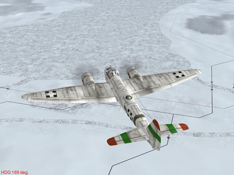 ju88a4 hun b418 winter by-falkster2