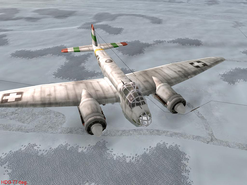 ju88a4 hun f914 winter by-falkster2