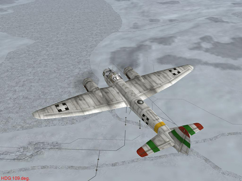 ju88a4 hun unmarked winter by-falkster2